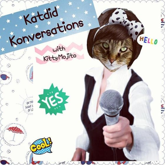 INTRODUCING 'KATDID KONVERSATIONS with Kitty Mojito'  I am thrilled to announce that Mama and I will be starting a new segment for the blog!  It's a Q & A section where I will be interviewing other cool cats!!! It will be casual and fun banter amongst friends so I hope you will all join me!  I will be interviewing one cool kitty every week so if you would like to be involved in this fun venture, DM me.  Please use the hastag #katdidkonversationswithKittyMojito 😽😽📹✒📞🍁🐱